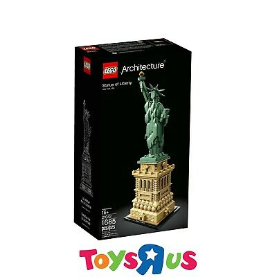AU138 • Buy LEGO 21042 Architecture Statue Of Liberty (BRAND NEW SEALED)
