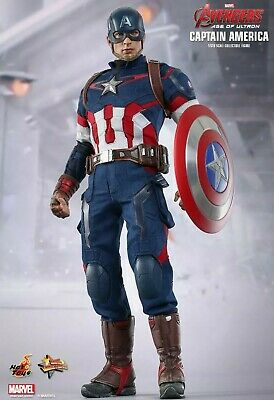 $ CDN655.97 • Buy Hot Toys MMS281 Marvel Avengers AOU Captain America 1/6 Action Figure New In Box