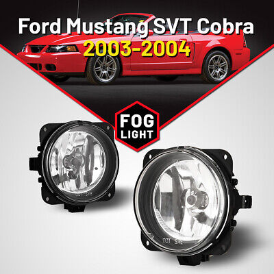 $31.01 • Buy Fog Lights For Ford Escape Mustang SVT Lincoln LS Clear Lens Pair Replace Lamps