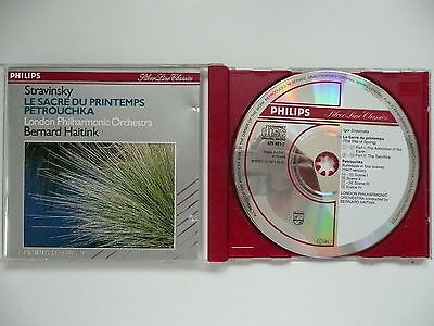 Haitink Conducts Stravinsky Rite Of Spring & Petrouchka LPO Philips 420 491 CD • 4.50£