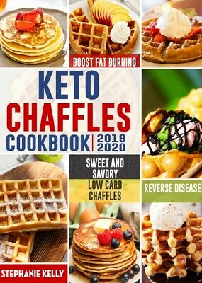 $1.77 • Buy Keto Chaffles Cookbook Simple, Sweet And Savory Low Carb Chaffles Recipes P.D.F