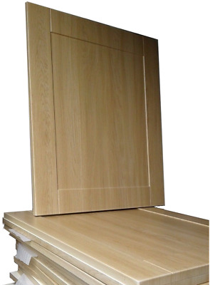 £24.55 • Buy New Kitchen Simply Replace The Doors Shaker Light Oak Kitchen Howdens Compatible