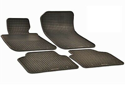 $49.95 • Buy Set Of 4 Black Rubber All Weather Floor Mats OE Fit For BMW E90 E91 323i 330i M3
