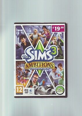 The Sims 3 Ambitions Expansion Pack - Pc & Mac Game - Fast Post - Complete - Vgc • 3.99£