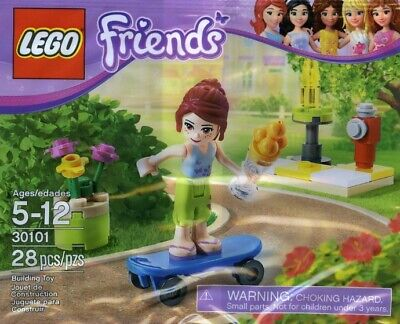 Lego Friends Skateboarder 30101 Polybag BNIP • 6.99£
