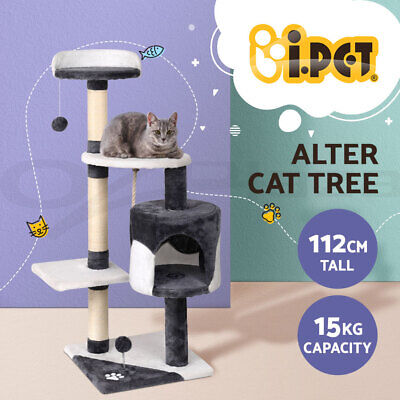 AU79.90 • Buy I.Pet Cat Tree Trees Scratching Post Scratcher Tower Condo House Furniture Wood
