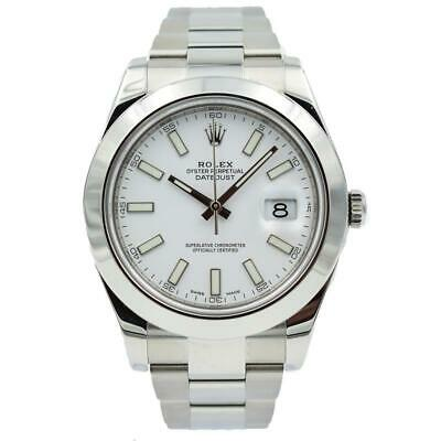 $ CDN10898.25 • Buy Rolex Datejust II - 116300 - White Dial In Stainless Steel - 41mm