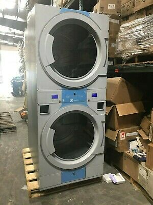 View Details 2015 Electrolux T5425S Commercial Gas Stacked Tumble Dryer 2x 50lbs • 4,999.99$