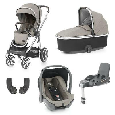 BabyStyle Oyster 3 Mirror ESSENTIAL Bundle - 5 Piece (Pebble) - RRP £955 • 824£