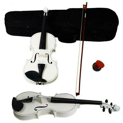 $32.91 • Buy 4/4 Full Size Acoustic Violin Fiddle Set With Case Bow Rosin For Student Adult