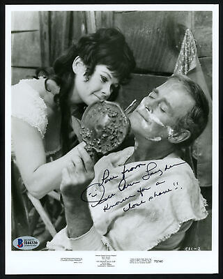 $49 • Buy Sue Ane Langdon Autographed Signed 8x10 Photo Actress Beckett BAS #H44336