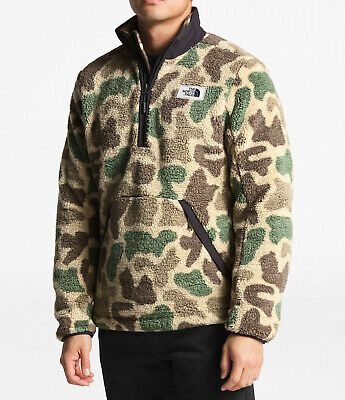 $56.31 • Buy New Mens The North Face Pullover Campshire Sherpa Fleece Jacket Coat Top