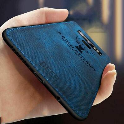 $ CDN8.25 • Buy For Samsung Galaxy S 8 9 Plus Note 8 9 Case Deer Cloth Silicone Protective Case