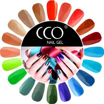 Cco Nail Gel Uv Led Polish Varnish Soak Off Top Base Coat Manicure Remover Uk • 4.69£