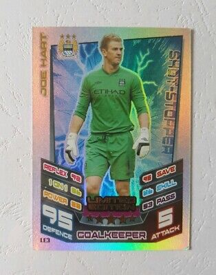 £1.89 • Buy Match Attax Premier League 2012/2013 Joe Hart Manchester City - Limited Edition