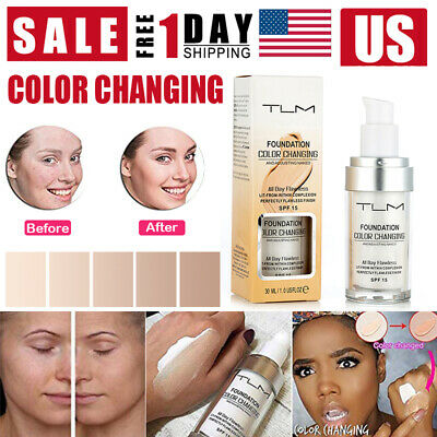 $5.87 • Buy TLM Pro Classic Colour Changing Foundation Magic Flawless Concealer Makeup 30ml