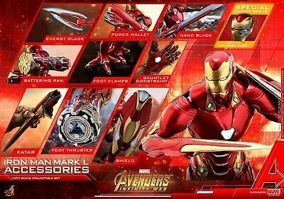 $ CDN463.35 • Buy Hot Toys ACS004 Avengers Infinity War Iron Man Mark L 50 Accessories Special Ver