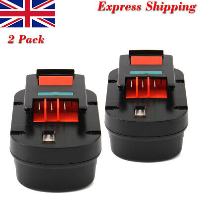 2Pcs 3000mAh 12V Ni-MH Battery For BLACK & DECKER A1712 FSB12 FS120BX A12 A12EX • 35.54£