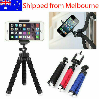 AU7.95 • Buy AU Flexible Mini Octopus Tripod Bracket Holder Mount For IPhone Cell Phone Crane