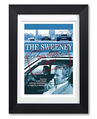 The Sweeney Cast Signed Poster Print British Tv Show Season Photo Autograph Gift • 7.99£