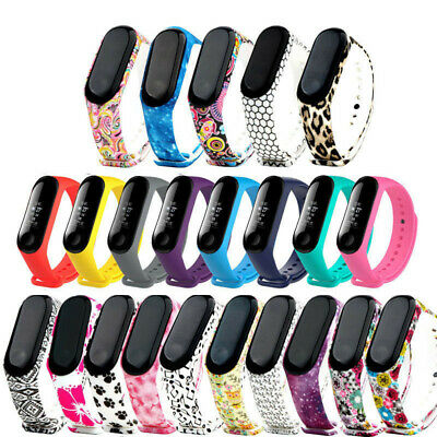 $1.99 • Buy Silicone Wristband Bracelet Watch Band Replacement Belt For Xiaomi Mi Band 3/4