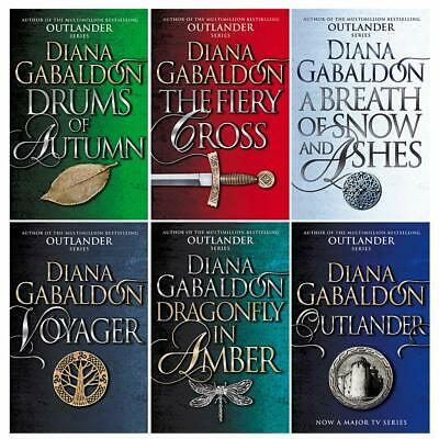AU63.74 • Buy Outlander Series 1 Diana Gabaldon Collection 6 Books Set Drums Of Autumn, Fiery