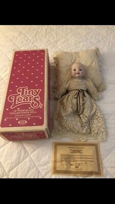$ CDN20.30 • Buy 1983 Tiny Tears Porcelain Doll With Molded Hair Rare Find #359 LOW # In Edition