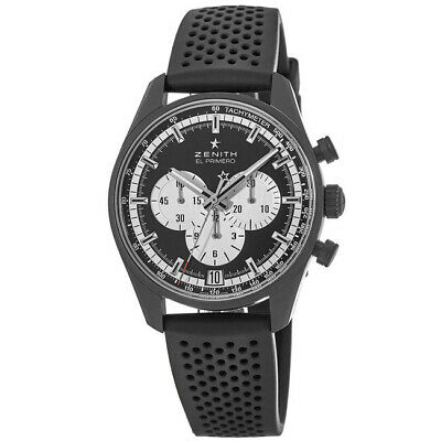 $5506 • Buy New Zenith Chronomaster El Primero Black Dial Men's Watch 24.2041.400/21.R576