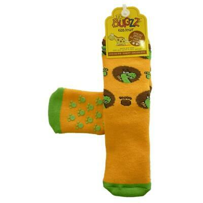 Promo Bugzz Dinosaur Socks Childrens Toddlers Non-Slip Wellie Boot Slipper Socks • 3.79£