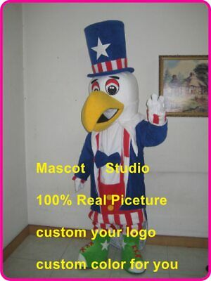 Eagle Mascot Costume Cosplay Party Game Dress Outfit Advertising Halloween Adult • 202.50£