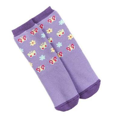 Promo Bugzz Butterfly Socks Childrens Toddlers Non-Slip Wellie Boot Slipper Sock • 3.79£