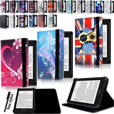 Leather Stand Flip Cover Case For Amazon Paperwhite 1/2/3/4 & Kindle 4/5//7/8/9 • 4.99£