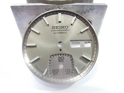 $ CDN20.11 • Buy New Replacement Seiko  Gray  Dial Fits Seiko 6139-6040 Chronograph Men's Watch