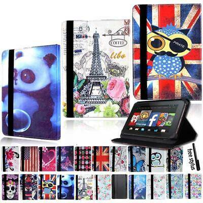 Leather Tablet Stand Flip Cover Case For Amazon Kindle Fire 7/HD 8/ HD 10 Alexa • 4.99£