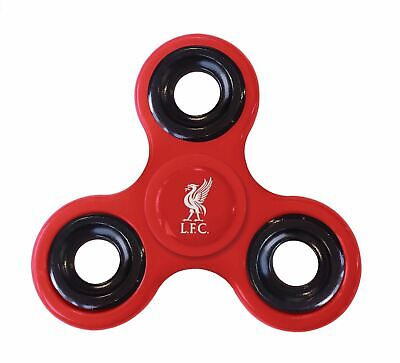 Official Licensed Liverpool FC Finger Fidget Spinner Diztracto Spinnerz • 4.99£