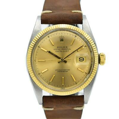 $ CDN6141.68 • Buy Rolex Datejust 6305 Bubbleback - Vintage Two-Tone 36mm
