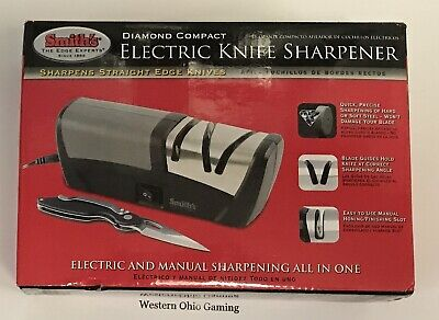 $89.99 • Buy Smith's Diamond Compact Electric Knife Sharpener NEW