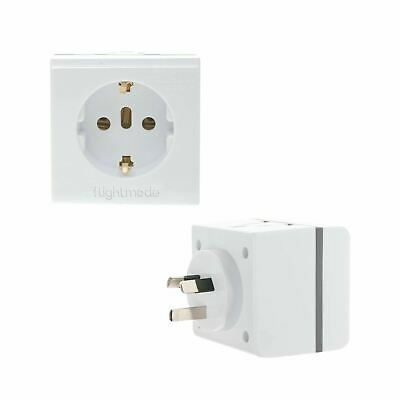 AU23.10 • Buy  World/Universal Australia NZ Inbound Travel Adapter Large Accessory Power Plug