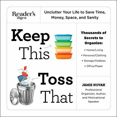 AU45.84 • Buy Keep This Toss That: Unclutter Your Life To Save Time,  - Paperback NEW Jamie No