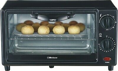 Belaco Mini 9L Toaster Oven Tabletop Cooking Baking Portable Oven 650W Compact • 34.30£
