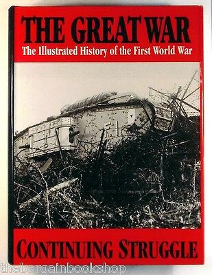 £14.95 • Buy THE GREAT WAR Vol.5 CONTINUING STRUGGLE Illustrated History Of First World War