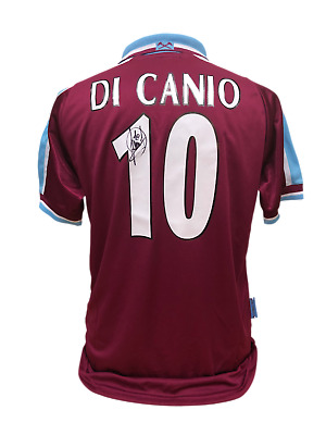 £199 • Buy Paolo Di Canio Signed West Ham United 10 Football Shirt See Proof Coa Soccer