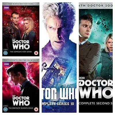 Doctor Who DVD Box Set Series 1 2 3 4 5 6 7 8 9 10 Dr Who Complete Collections • 5.89£