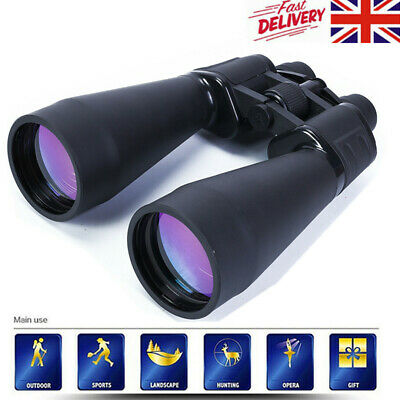 SAKURA Day And Night Vision 20 X 180 X 100 ZOOM Powerful Binoculars UK Seller • 35.99£