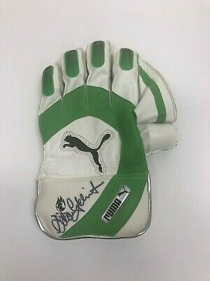 AU299.99 • Buy Adam Gilchrist Australia Cricket Hand Signed Keepers Glove Ashes Smith Warner