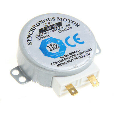 Microwave Oven TYJ50-8A7 Turntable Turn Table Synchronous Motor 220/240 Volt New • 3.38£