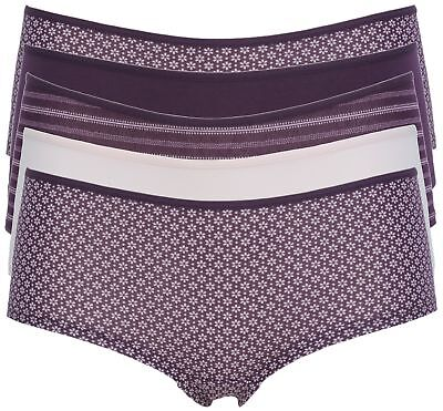 Ex Store Multipack Shortie Style Cotton Rich Knickers • 5.99£