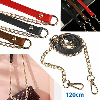 $6.99 • Buy Replacement Purse Chain Strap Handle Shoulder Crossbody Handbag Bag Metal 120cm