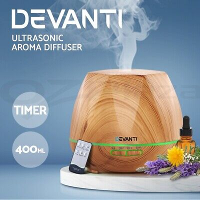 AU37.95 • Buy Devanti Ultrasonic Aroma Aromatherapy Diffuser Oil Electric Air Humidifier LW