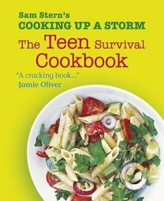 Cooking Up A Storm The Teen Survival Cookbook By Sam Stern 9781406352979 • 5.99£